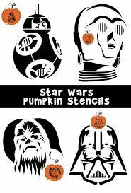 8 star wars pumpkin carving patterns including darth vader darth