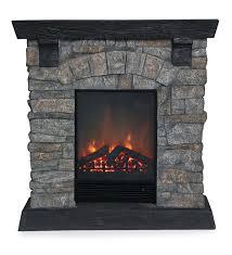 Electric Fireplace Heaters Rockbridge Stacked Stone Electric Fireplace Heater Electric