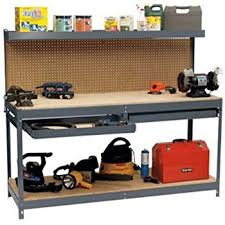 workbench with pegboard and light garage workbench with pegboard storage shelf drawers this 6