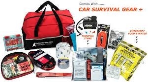 survival car car emergency kit plus car survival gear 185 pieces ultimate all