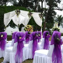 diy wedding chair covers buy diy chair covers for weddings and get free shipping on