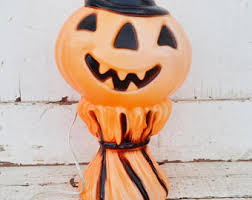 vintage outdoor halloween decorations etsy