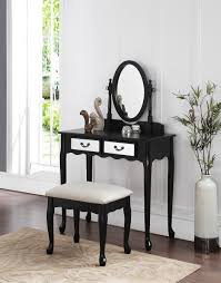 Make Up Dressers Amazon Com 3 Piece Wood Make Up Mirror Vanity Dresser Table And