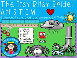 stem science technology engineering math itsy bitsy spider