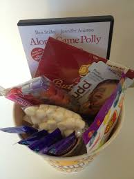 Movie Themed Gift Basket Me And My Shadow Movie Night Gift Hamper Ideas