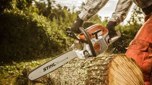 stihl ms 261 mid range professional chainsaw green industry pros