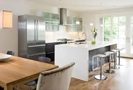 White Corian Countertop Ideas Kitchen Modern With Dining Table - Corian kitchen table