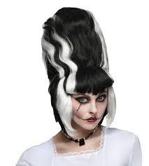Womens Monster Halloween Costume by Womens Monster Bride Frankenstein Wig Hair Halloween Costume