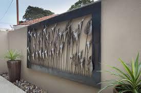 Wall Decor For Outdoor Patios Wall Art Design Ideas Classic Plant Outdoor Wall Art Decor Pot