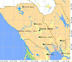 sonoma california map sonoma county california detailed profile houses estate