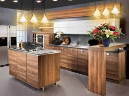 cuisine moderne bois cuisine moderne bois collection avec cuisine moderne bois et blanc