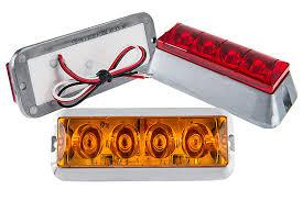 strobe light installation truck vehicle strobe light w built in controller 4 watt surface mount