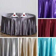 Table Cloths For Sale Satin Tablecloth Ebay