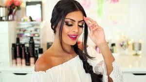 hair stayel open daylimotion on pakisyan indian pakistani asian bridal hair style tikka dupatta
