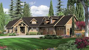 house craftsman one story house plans