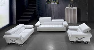wonderful decoration white sofa set living room modern full