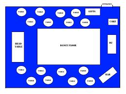 Floor Plan Wedding Reception The Science Behind Your Wedding Reception