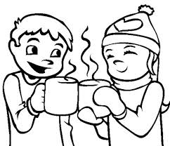 download coloring pages winter chocolate or print coloring
