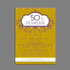 How To Make Your Own Invitation Cards 50th Birthday Party Invitations Card Vertabox Com