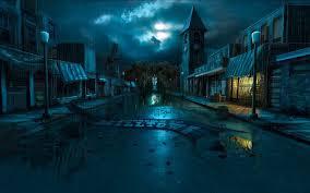 dark village wallpaper digital art background wallpaper 1280x800 34458