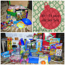 operation christmas child 2014 packing a 10 14 year old boy