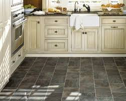 Kitchen Floor Coverings Ideas by Pickled Oak Cabinets Dark Floors Best Black Vinyl Sheet Flooring