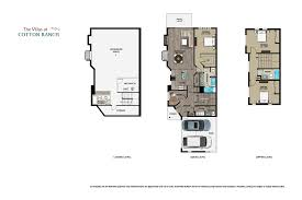 Triplex Plans by Floorplans The Villas At Cotton Ranch Vail Valleys Newest