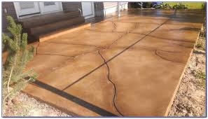 Tiling A Concrete Patio by Resurfacing Concrete Patio With Tile Patios Home Design Ideas