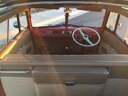 volkswagen bus interior barrett jackson countdown 1956 volkswagen 23 window microbus