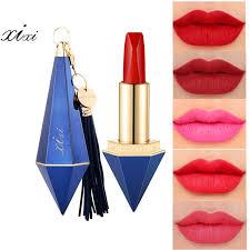 Muito Xixi matte lipstick 12 colors kissproof smooth lip balm batom nude  @OS71
