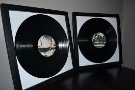 personalized record album wedding guest book two custom framed lp vinyl record album