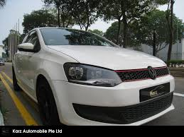 volkswagen singapore buy used volkswagen polo 1 4 at 6r13e7 car in singapore 41 988