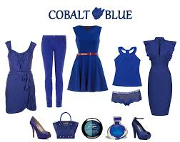 cobalt blue an amazing color for those who are dark deep winter