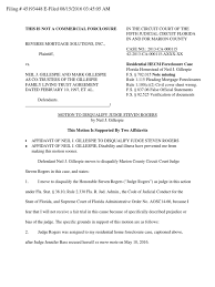 Family Court Cover Sheet by Motion To Disqualify Judge Steven Rogers Filing 45193448