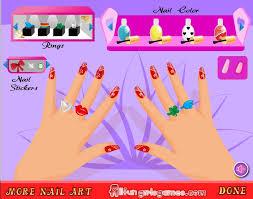free online games for girls nail polish nails fashion free games