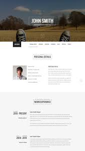 Resume Online Website Top 15 Resume Website Templates In Wordpress