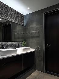 buy unglazed black 3d glass bathroom artistic tile design on wall