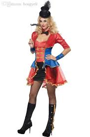 Halloween Costumes Jester 2017 Wholesale Ladies Clown Harlequin Jester Halloween
