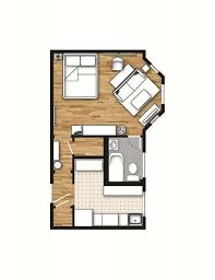 One Bedroom Apartment Floor Plans by One Bedroom Apartment Plans And Designs One Bedroom Apartment