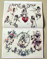2015 new china traditional tattoo books wolf dragon snake knight