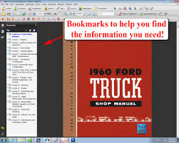 1960 ford truck shop manual ford motor company david e leblanc