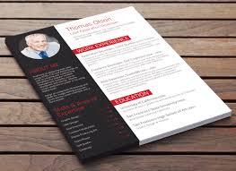 executive curriculum vitae executive in red modern cv design resume baker