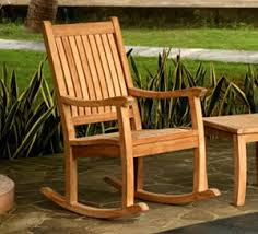Wood Rocking Chair Teak Rocking Chair When You Want To Relax In Style