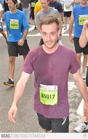 Photogenic Runner Meme - ridiculously photogenic guy after race photogenic guy and humour