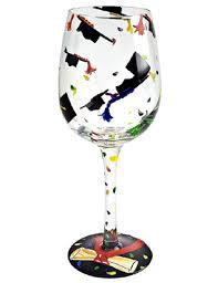 graduation wine glasses wine glasse graduation wine glass gifts direct 2 u