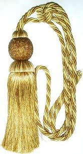 Gold Curtain Tassels Exclusive Curtain Tiebacks Exporter From Delhi