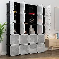 Closet Systems With Doors Langria 20 Storage Cube Organizer Wardrobe Modular