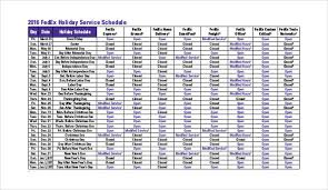schedule template 19 free sle exle documents
