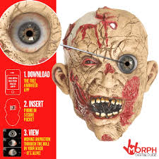Zombie Mask Scary Zombie Mask Morph Costumes Us