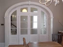 Arch Doors Interior Custom Arched Interior Door Traditional Bathroom By